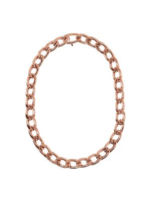 Curb Chain Collier by Bronzallure