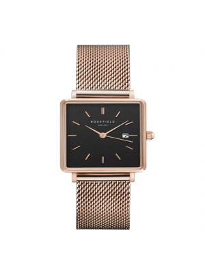 Rosefield  The Boxy Black Mesh Rosegold