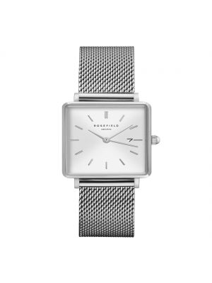 Rosefield The Boxy White Sunray Mesh Silver