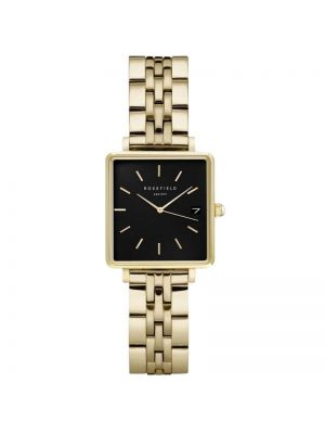 The Rosefield Boxy XS Black Gold