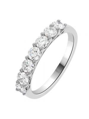 18ct White Gold Seven Stone Diamond Eternity Ring