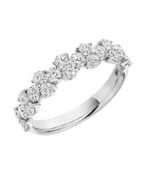 18ct White Gold Diamond Set Eternity Ring