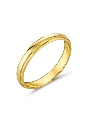 9ct Yellow Gold Polished Ladies Wedding Band