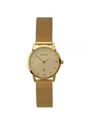 Sekonda Ladies Gold mesh Strap Watch
