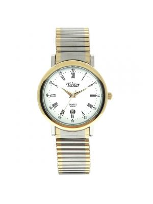 Telstar man's silver tone watch