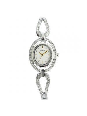 Telstar Ladies Rose Tone Oval Watch