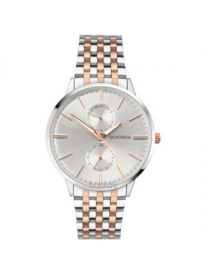 Gents Sekonda Rose and Silver Classic Watch