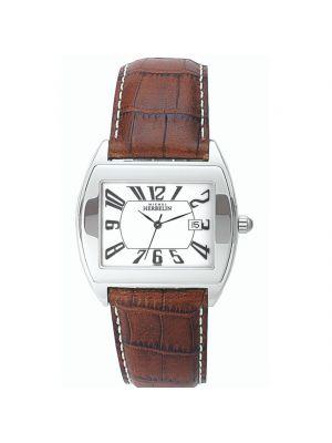Gents Michel Herbelin Leather Strap Watch