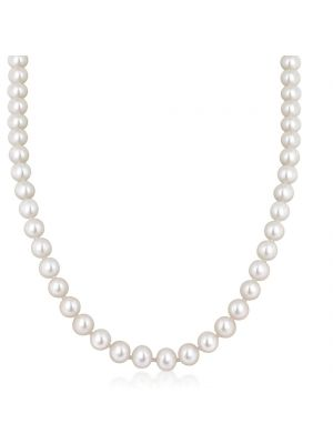 Classic Pearl Necklace with 9ct Yellow Gold Clasp