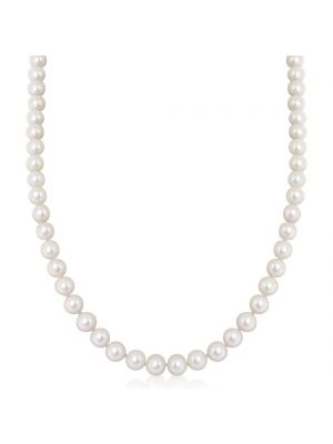 Cultured Pearl Necklace & 9ct Yellow Gold Clasp