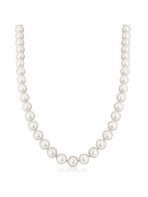 Cultured Pearl Necklace with 14ct Yellow Gold Clasp