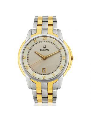 Gents Bulova Two Tone Bracelet Watch