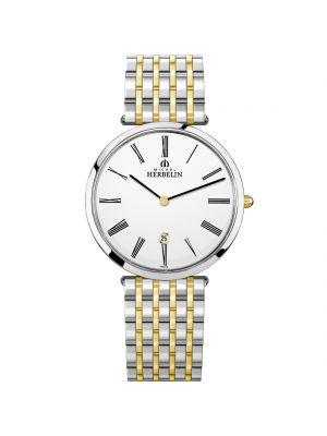 Gents Michel Herbelin Epsilon Two Tone Watch