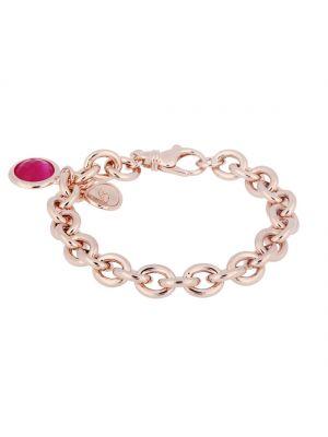 Bronzallure Charisma Fucsia Charm Bracelet