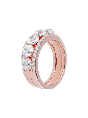 Bronzallure Eternity and Solitaire Ring Set
