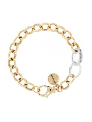 Bronzallure Pave Link Bracelet