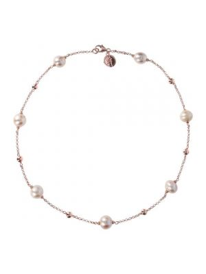 Bronzallure Ming Pearls Stationary Necklace