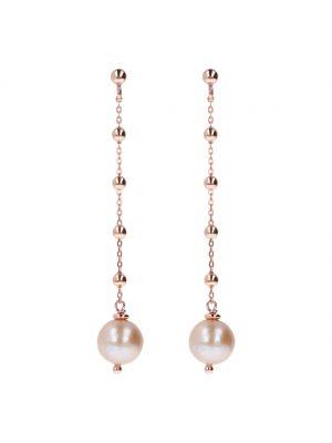 Bronzallure Delicate Pearl Drop Earrings