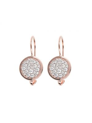 Bronzallure CZ Dangle Earrings with Micropave