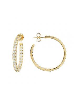 Bronzallure 2 in 1 Golden Drop Earrings