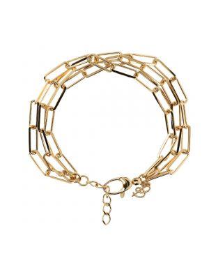 Rectangular Triple Link Bracelet by Bronzallure
