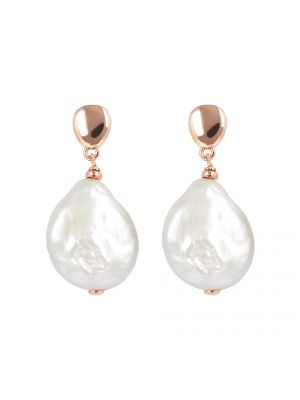 Maxima Ming Pearl Earrings, Bronzallure