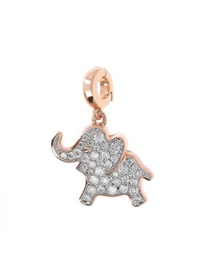 Elephant Charm for Bracelet or Necklace by Bronzallure
