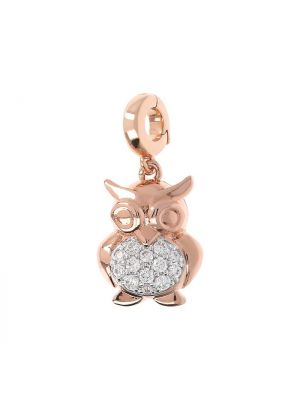 Owl Charm for Bracelet or Necklace by Bronzallure
