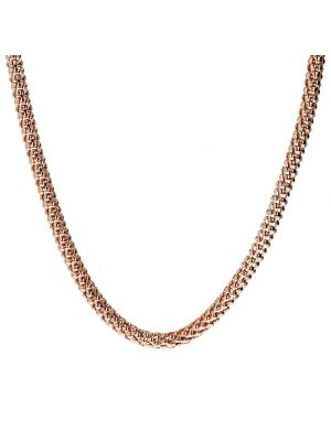 Bronzallure  Rose Gold Microplated Korean Necklace