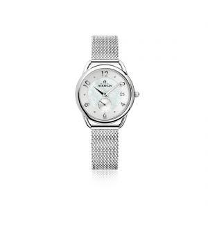 Ladies Michel Herbelin Mesh Bracelet Watch