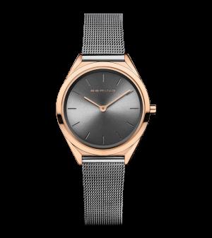 Bering Unisez Grey milanese watch