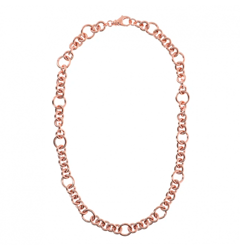 Necklace with Rolò Chain and Rings - Bronzallure