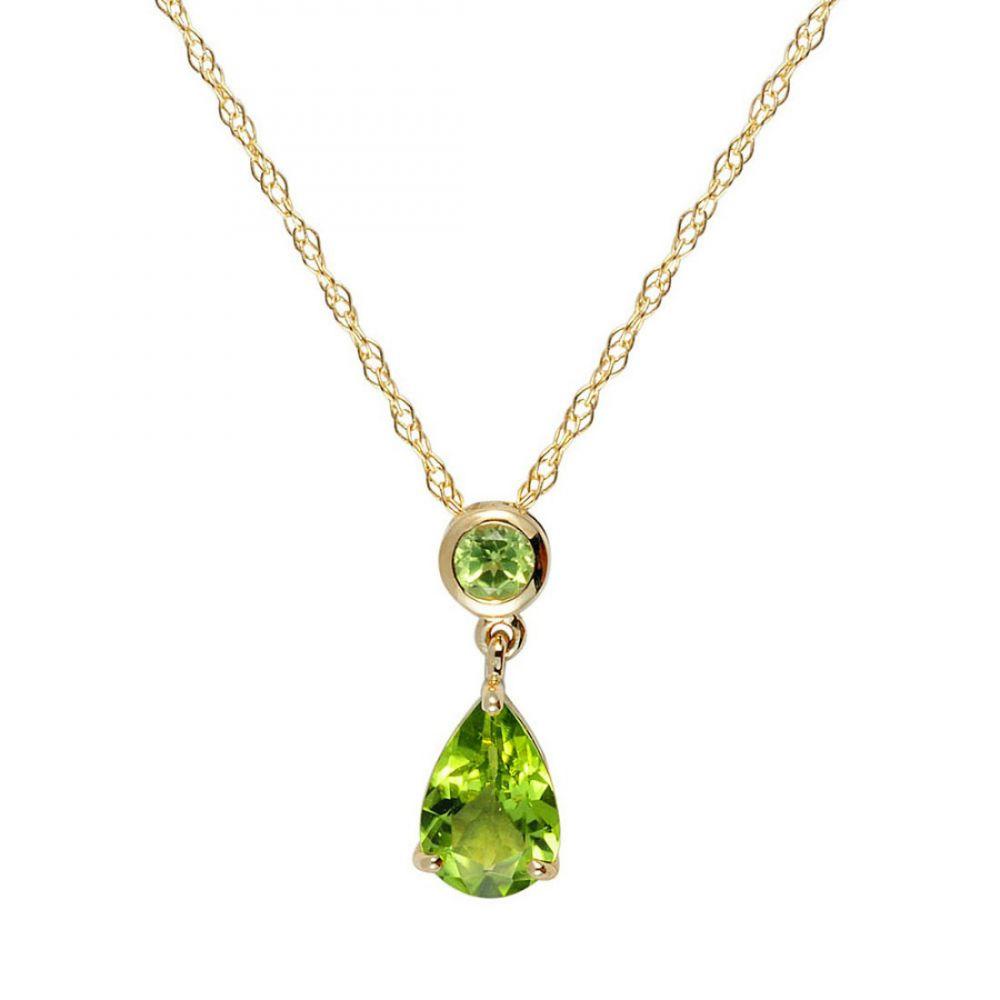 9ct yellow gold peridot pendant and chain ryan thomas jewellers aloadofball Gallery