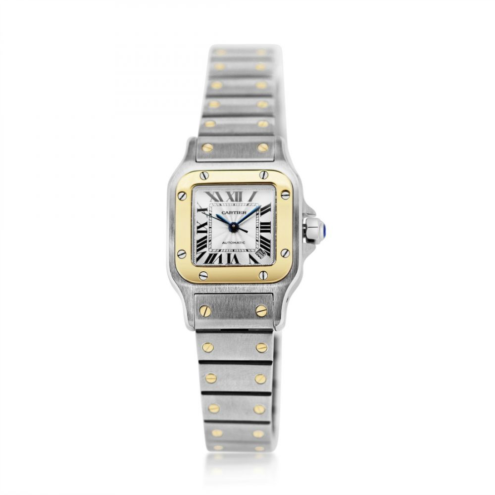 a2267e05a3f0b Genuine Cartier Santos Ladies watch