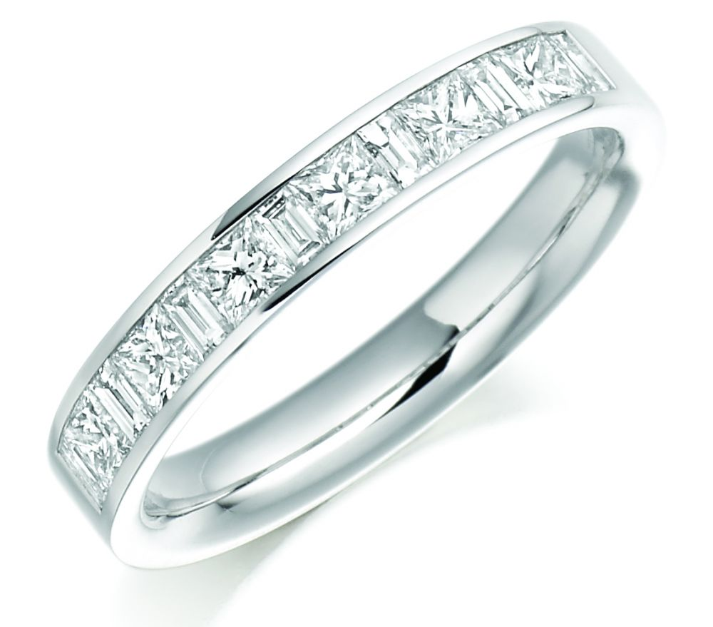 diamond nl in emerald bands green band with round eternity baguette platinum jewelry and wg