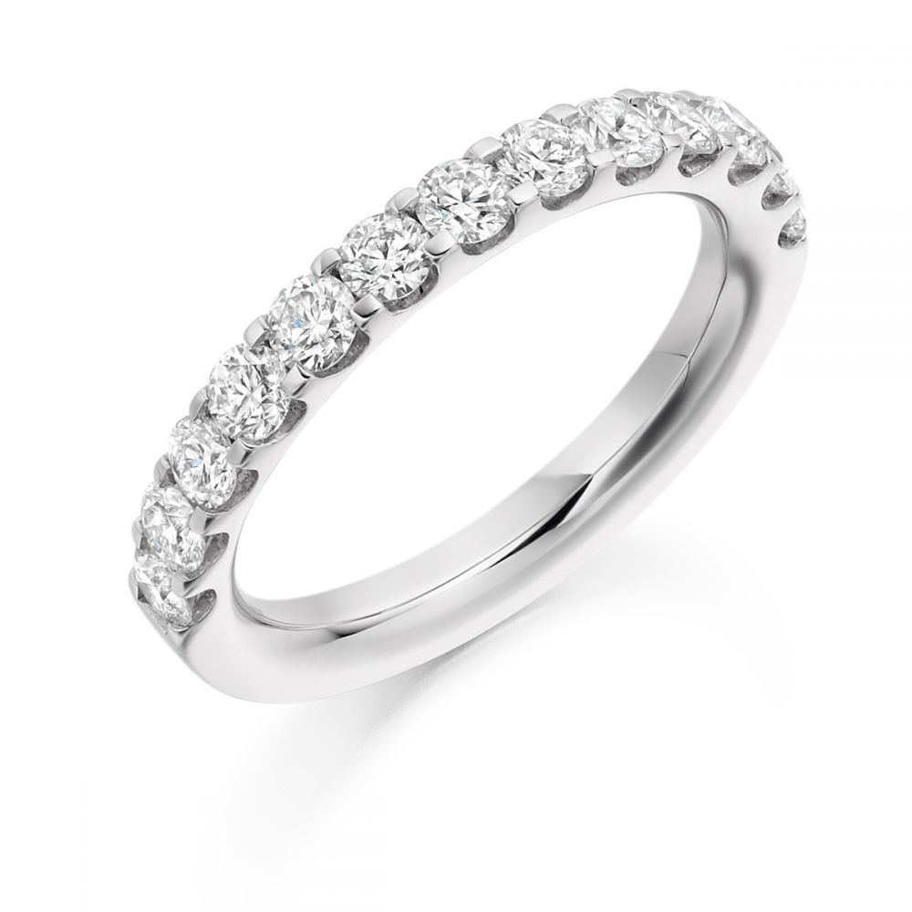 half platinum eternity brilliant f vs ring joshua cut james diamond g image