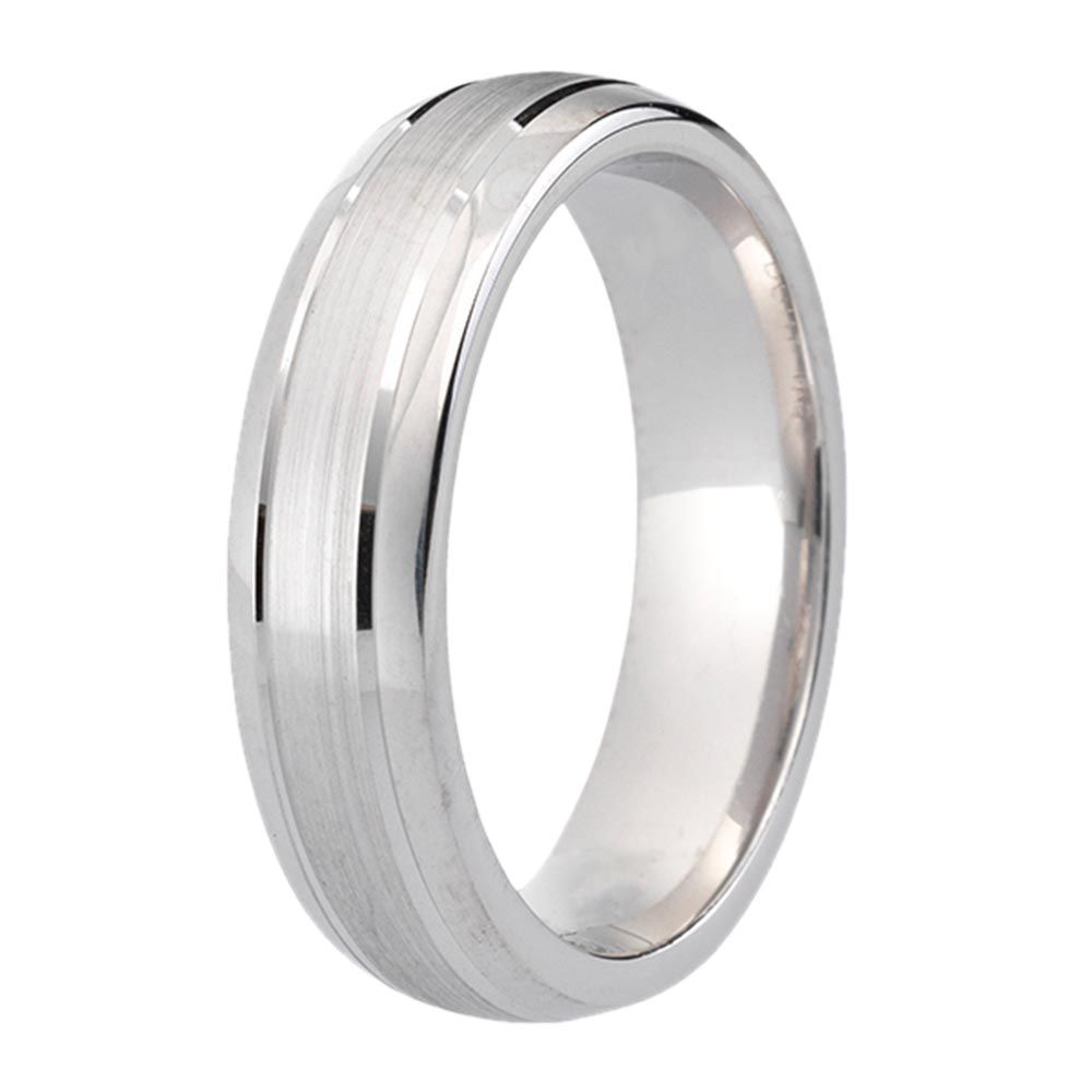 42139bb6c4aa8 9ct White Gold Gents' Wedding Ring