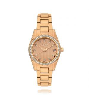 d'Alton Ladies Rose Stone Set Bracelet Watch