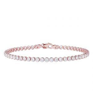 Bronzallure CZ Tennis Bracelet