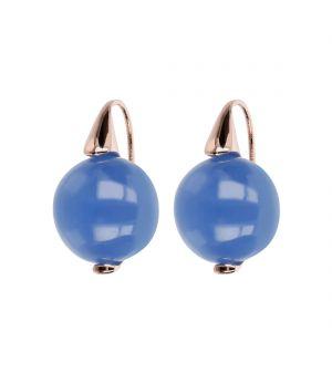 Bronzallure Chalcedony Earrings