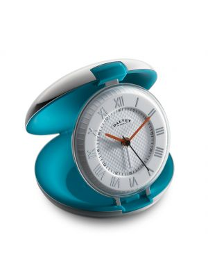 Teal Capsule Clock