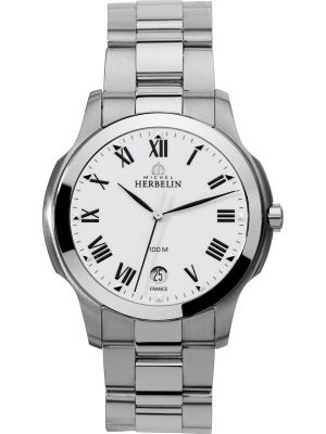Gents Michel Herbelin Stainless Steel Ambassador Watch
