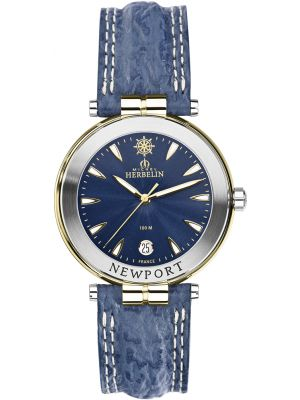 Michel Herbelin Gents Two Tone Newport Watch