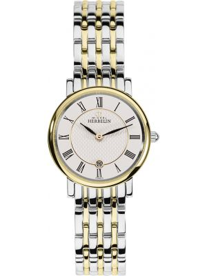 Ladies Michel Herbelin Parisian two tone bracelet watch