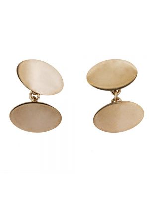 9ct rosegold cufflinks
