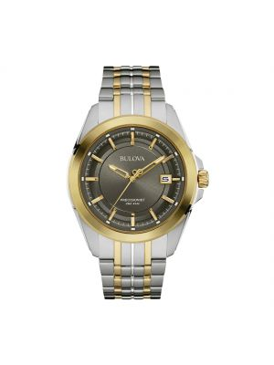 Gents Two tone Gents Percisionist Bulova Watch