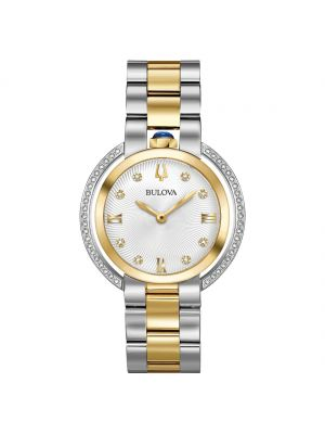 Ladies two tone Rubaiyat Bulova watch