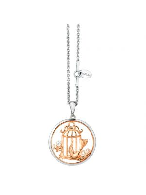 Astra Sterling silver Birdsong pendant and chain