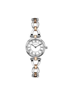 Ladies Dalton two tone steel & rose dress watch
