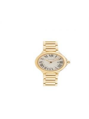 d'Alton Ladies Yellow Gold Plated Bracelet Watch